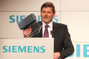 Ralf-Michael Franke, Siemens Industry Sector, CEO Business Unit Industrial Automation Systems