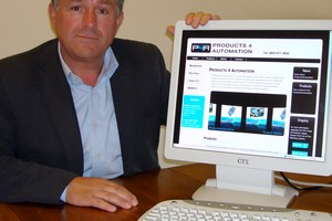 Paul Hurst, managing director of Products4Automation