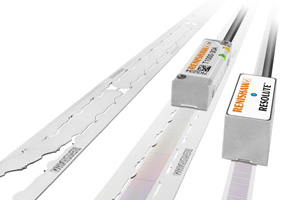 Renishaw's FASTRACK track-mounted linear encoder scale system, ideal for large machines.