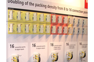 High Density bus terminals on display for the first time at SPS/IPC/Drives