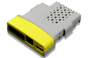 The SM Safety module is a mini safety PLC