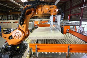 Robot application (Titan) [Source: Kuka]