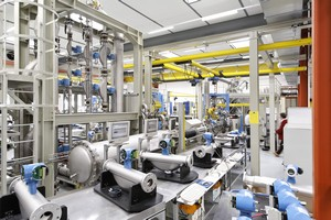 The calibration facility in Reinach, Switzerland
