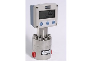 VFF rotary piston flowmeters regulate a mix for Total Polyfilm's products