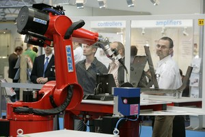 Laser processing system from REIS ROBOTICS in 2006