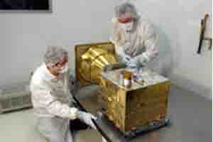 Interferometer assembly in clean room
