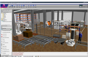 Visual Components' Factory Simulation Software
