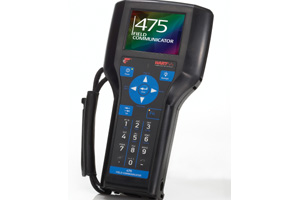 Emerson 475 with colour touchscreen
