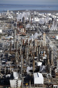 "Aerial shot of the Texas City refinery in the USA - ""©BP p.l.c"