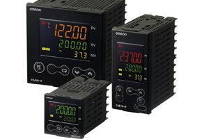 Omron E5_N-H series temperature controllers