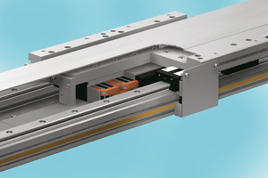 Details of the THK actuator GLM20 with its integrated linear motor