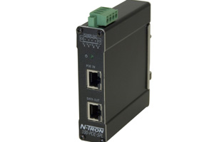 N-Tron PoE splitter, for situations where it's difficult to run power