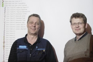 Peder Hägglund and Tommy Nielsen of Iggesund Paperboard have developed a predictive maintenance strategy for control valves