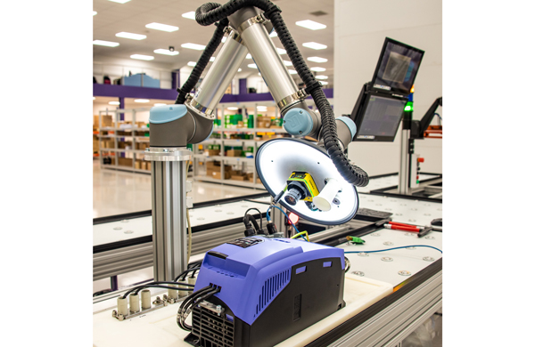 Cobot improves workflow consistency on product testing line