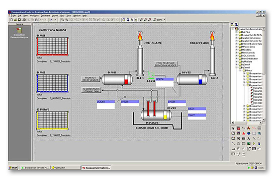 Plant Information Management System With Expanded Data Acquisition And Export Capabilities