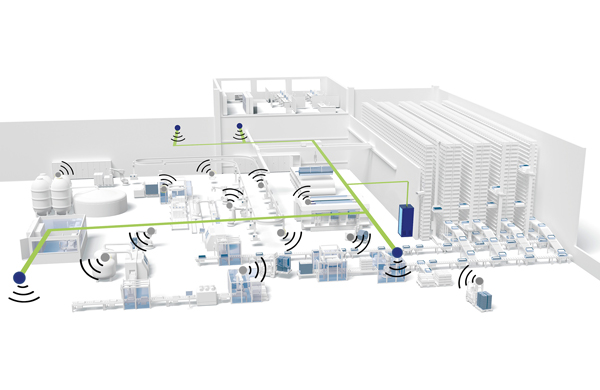 Connecting industrial applications to a private 5G network
