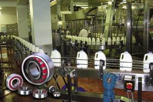 Milk plant had to employ NSK bearings to cope with failures on a conveyor